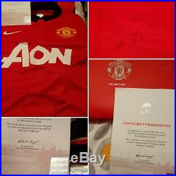 167 Fellani Signed Manchester United Football Shirt