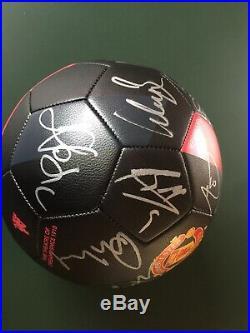 2009/10 Manchester United Football Signed 18 Rooney Scholes Park Man Utd Ball