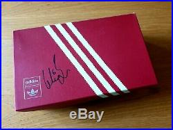 Adidas Manchester United Barcelona 99 Trainers (box signed by Wes Brown)