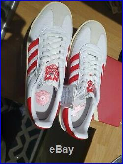 Adidas barcelona 99s Manchester United box signed by wes brown new in hand