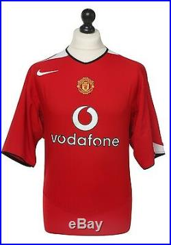 Alan Smith Signed Manchester United Shirt Memorabilia 04/06 #14 Jersey Autograph