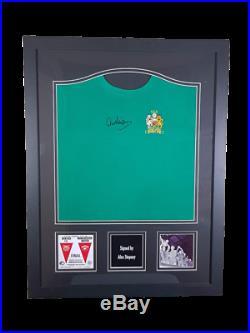 Alex Stepney hand signed 1968 European Cup Final Manchester United shirt