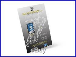 Authentic hand signed Eric Cantona Manchester United F. C. 1996/97 shirt Print