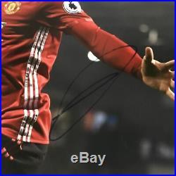 Autographed/Signed ZLATAN IBRAHIMOVIC Manchester United 16x20 Photo JSA COA Auto