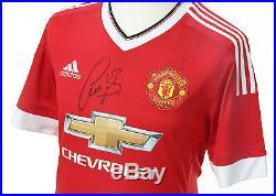 Bastian Schweinsteiger Signed Manchester United Shirt Memorabilia Autograph COA