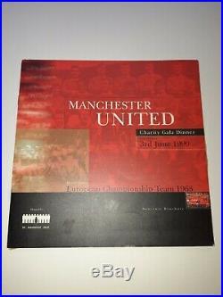 Bobby Charlton Signed Manchester United Signed 1968 Winning European Team