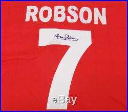 Bryan Robson 1983 Manchester United FA Cup Final Signed Shirt