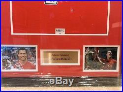 Cristiano Ronaldo Signed 2008 Manchester United Shirt Framed