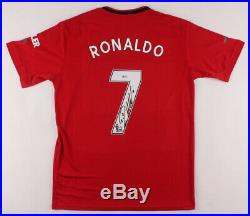 Cristiano Ronaldo Signed Manchester United Jersey Beckett Witnessed (BAS)