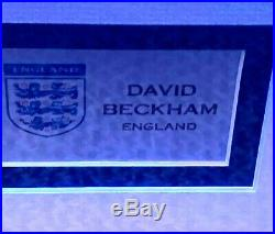 David Beckham Signed Manchester United Shirt