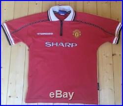 David Beckham Signed Manchester United Shirt (read description before bidding)