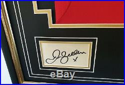David Beckham of Manchester United Signed Card with Shirt Jersey AFTAL