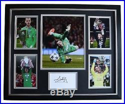 David de Gea SIGNED Framed Photo Autograph Huge display Manchester United COA