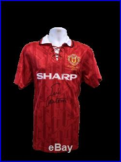Eric Cantona Manchester United 1994 FA Cup Final Hand Signed Shirt