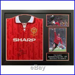 Eric Cantona Signed Framed Manchester United 1994 Football Shirt