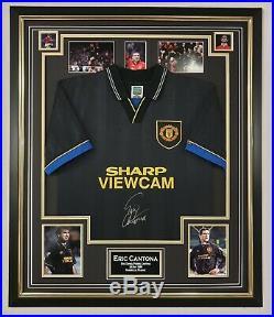 Eric Cantona of Manchester United Signed Shirt Autographed Jersey AFTAL DEALER