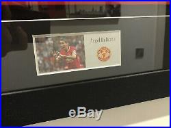 Framed Hand Signed DI Maria Manchester United Shirt