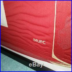Framed Wayne Rooney Signed Manchester United Shirt 2008 season
