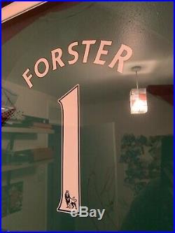 Fraser Forster match worn signed shirt (Southampton, Celtic, Manchester United)