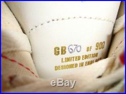 GEORGE BEST Manchester United GIFT Ben Sherman trainers Ltd Edit SIGNED Boxed