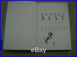 GEORGE BEST SIGNED MANCHESTER UNITED RETRO 1970's HOME SHIRT READ DESCRIPTION