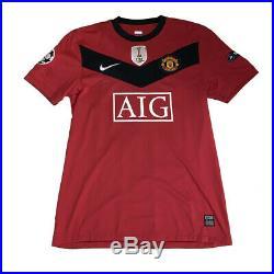 Gabriel Obertan Manchester United match worn shirt unwashed + signed