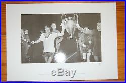 George Best Manchester United Signed Pixsportique Print 1968 European Cup Final