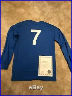 George Best Signed Manchester United 1968 European Cup Final Shirt