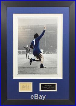 George Best Signed Manchester United 1968 European Cup Winner Memorabilia
