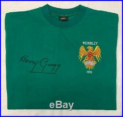 Harry Gregg Signed Manchester United 1958 FA Cup Final Goalkeeper Shirt