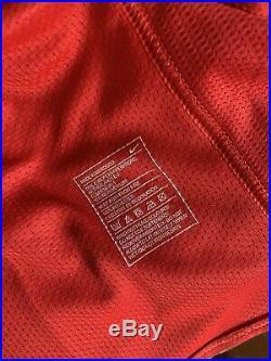 Jonny Evans Manchester United Match Issue Shirt Signed
