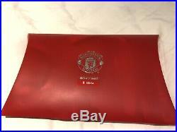 Juan Mata Signed Manchester United Football Shirt Coa Mata 8 Spain Mufc