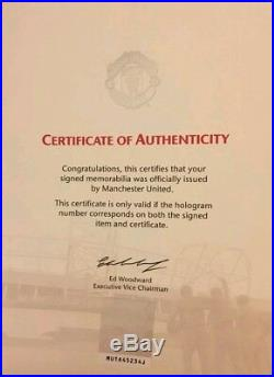 Lot 95 Anthony Marshall Signed Manchester United Football Shirt