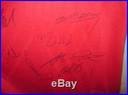 Manchester United 07-08 Squad Signed Home Football Shirt & MUFC COA BNWT /5196