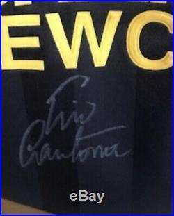 Manchester United Black Kung Fu Signed Eric Cantona Shirt 2 Left Superb £199