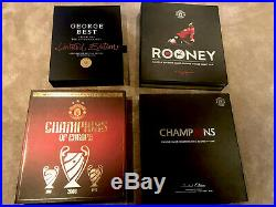 Manchester United Boxsets Signed Rooney Champions Best 19 Shirt Limited Edition