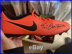 Manchester United Eric Cantona Signed Boot SUPERB ITEM £150 Signed On Our Tour