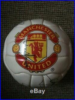 Manchester United Man Utd 2001 2002 Signed Official Football Beckham Keane