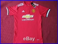 Manchester United Nemanja Matic Signed 2017-18 Home Shirt Jersey Photo Proof