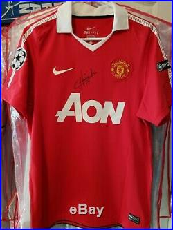 Manchester United Signed Chicharito Nike soccer jersey