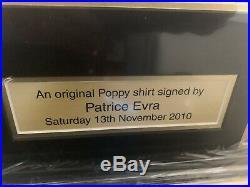 Manchester United Signed Poppy Shirt