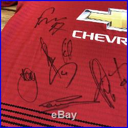 Manchester United Signed Shirt Man Utd Club COA Autograph Jersey Memorabilia