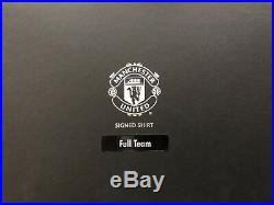Manchester United Signed Team Shirt 16/17 With Certificate Of Authenticity