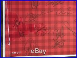 Manchester United Squad Signed 12/13 Prem Winners Football Shirt Jersey With COA