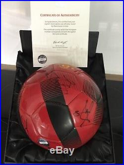 Manchester United Squad Signed Ball 2018-19 Official Club Issued Coa