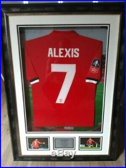 Manchester United Trio Number 7 Signed and Match Worn Shirts