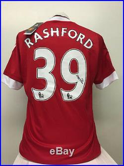 Marcus Rashford 2015/16 Signed Manchester United Shirt +COA