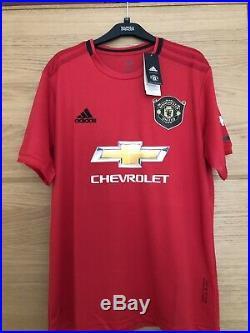 Marcus Rashford Signed Manchester United Shirt 19/20, England With Proof