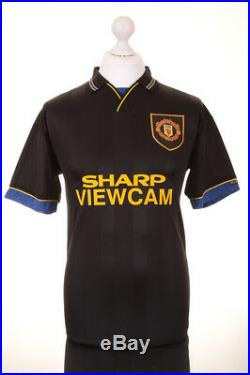 Mark Hughes Signed Shirt Manchester United Autograph Black Jersey Memorabilia
