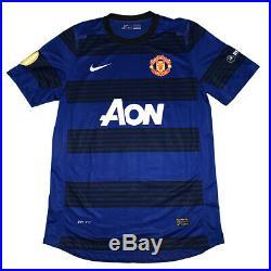 Michael Carrick match worn shirt signed Manchester United, COA